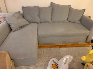 Ikea Holmsund Sleeper sofa (3 seat sectional) for Sale in New York, NY