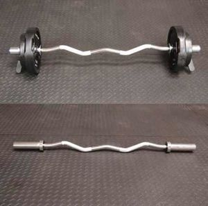 Olympic Curl Bar Only New In Hand ( No Weights) for Sale in Orlando, FL