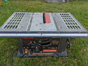 Craftsman 10inch Table Saw, 2.5HP for Sale in Maple Heights, OH