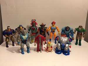 11 Figure Thundercats Lot - Vintage Action Figure Toy LJN for Sale in Naperville, IL