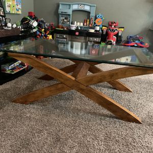 Glass Coffee Table & 2 Matching End Tables for Sale in Phoenix, AZ