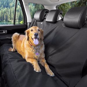 (NEW) $15 Pet Dog Car Seat Protector Cover Back Rear Mat Pad Waterproof Hammock, Black for Sale in Whittier, CA