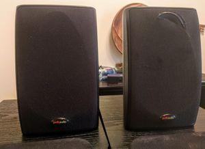 Polk Audio RM6761 Surround Sound Satellite Speaker Set of 2 Speakers 8ohm 100 watts for Sale in Burien, WA