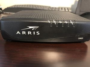 Cable modem and Wireless router for Sale in Hudson, OH