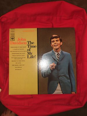 "Record: John Davidson ""the time of my life"" for Sale in Washington, DC"