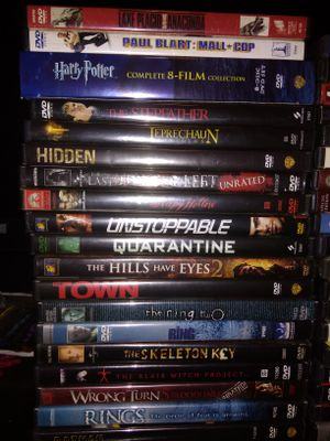 70 DVDs for Sale in Charlotte, NC