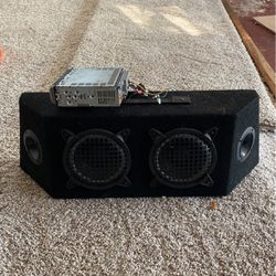 Vintage Pioneer Speaker and Speaker box for Sale in Casselberry,  FL