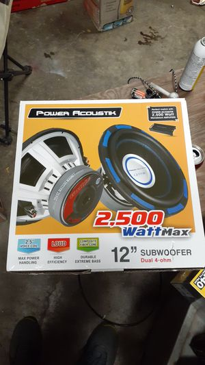 """POWER ACOUSTIC 12"""" Subwoofer for Sale in Lewisville, TX"""