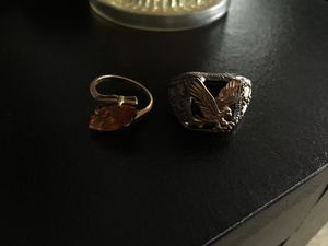 Two gold rings one alone is $200 for Sale in Harrisburg, PA