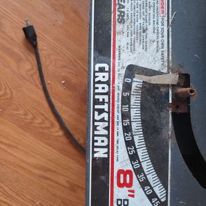 Craftsman Table saw Circular Blade Tool Cutting for Sale in Severna Park, MD