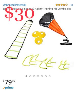 Sports Exercise & Speed & Agility Training Kit Combo Set BRAND NEW for Sale in Long Beach, CA