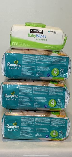 Pampers size 4. 👶👶👶 $25 for all for Sale in Hawthorne, CA