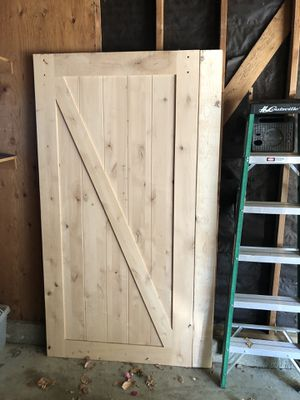Large Barn Style Sliding Door 4' Width x 7' Height for Sale in Santa Ana, CA