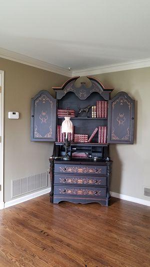 bookcase,secretary, bar, decor for Sale in NJ, US