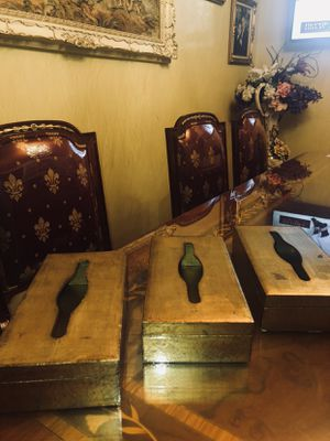 Florentine Gilt vintage gold Wood Tissue Boxes made in Italy. set of 3 each is $45 for Sale in Pico Rivera, CA