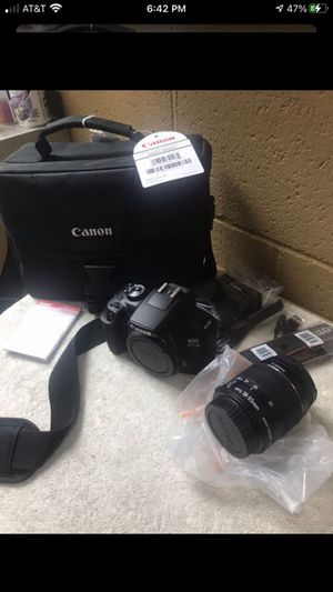 Canon Rebel T6 18MP Digital SLR Camera DS126621 w 18-55mm In Bag, digital camera, photography,photo camera for Sale in Los Angeles, CA