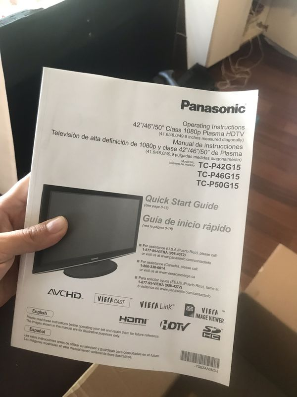 "50"" PANASONIC TV WITH HOME THEATER"