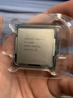 i7 - 9700k processor for Sale in Burbank, CA