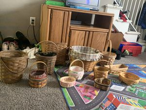 Longaberger baskets for Sale in Grove City, OH