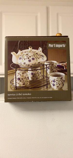 New in box! Pier 1 tea set for Sale in Escondido, CA