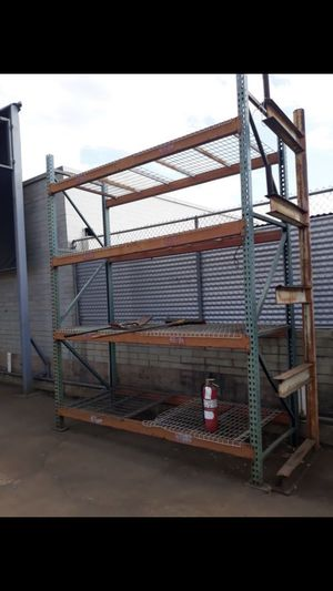 HEAVEY DUTY PALLETS RACK (easy to disassemble) for Sale in Los Angeles, CA