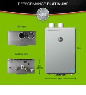 Rheem Performance Platinum 9.5GPH Tankless Hot Water Heater for Sale in Baton Rouge, LA
