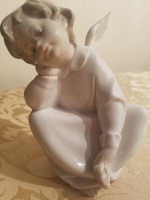 "$75.00 - 1977 Lladro, ""Dreaming Angel"" - Gorgeous! - Please read description for Sale in Miami, FL"