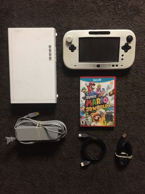 Nintendo WII U with MARIO 3D WORLD for Sale in San Diego, CA