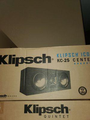 KLIPSCH ICON FULL 7.1 SURROUND SETUP for Sale in Modesto, CA
