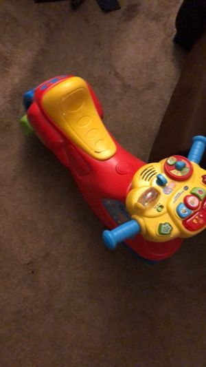 Fisher price learn ride on for Sale in Charlotte, NC