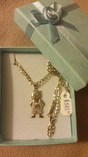 Cadena para niño de oro de 14k/ 14k gold boy chain for Sale in Manassas Park, VA