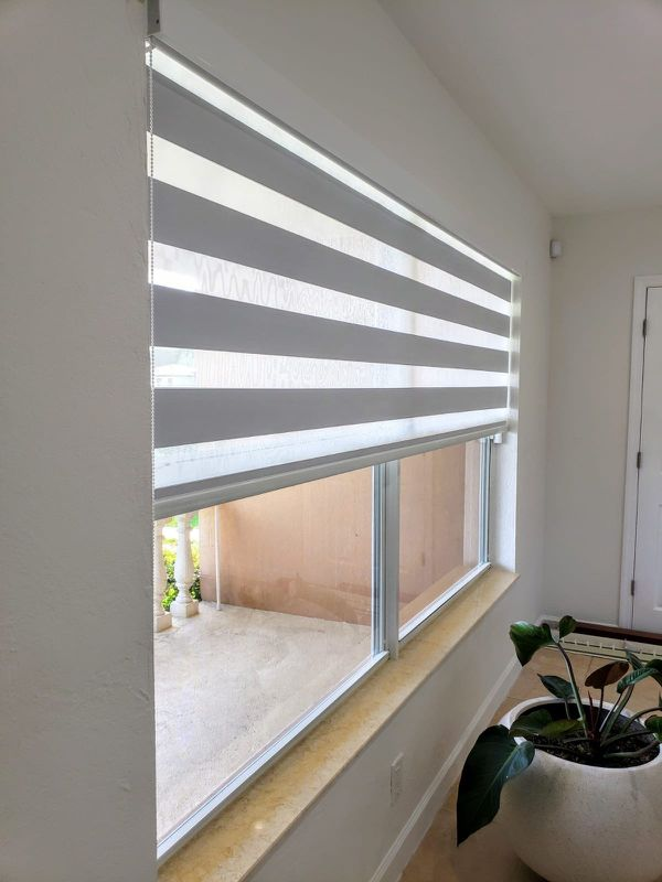 Roller shades screen and blackout cortinas y persianas zebra shades special blinds regular o motorized