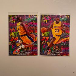 Lebron James And Kobe Bryant Cards You Get Both for Sale in Fairfax,  VA