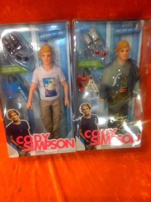 2 Cody Simpson action figures (New in packages) for Sale in Boston, MA