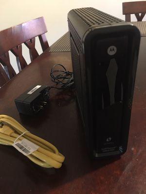 Motorola Surfboard SBG6580 Router Modem Combo for Sale in Seattle, WA