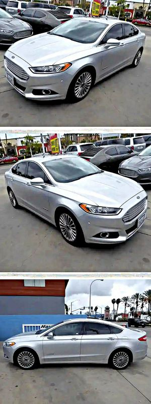 2013 Ford Fusion Hybrid Titanium for Sale in South Gate, CA