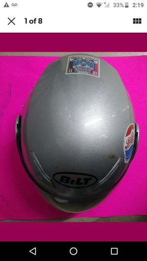 {link removed}Bilt Demon Modular Motorcycle Helmet Silver XXXL for Sale in Azalea Park, FL
