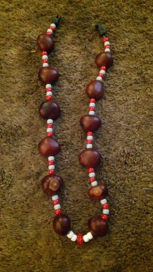Buckeye necklace with special charm in middle for Sale in Columbus, OH