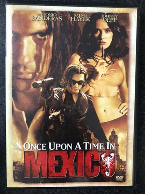 Once Upon A Time In Mexico DVD for Sale in Lisbon, CT