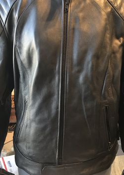 Women's Leather Motorcycle Armor Jacket 2XL for Sale in Austell,  GA
