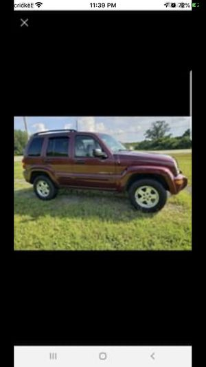 2002 Jeep Liberty for trade or sell for Sale in Millbrook, AL