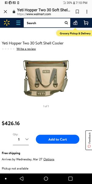 Yetti hopper insulated cooler bag for Sale in St. Louis, MO