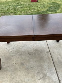 Mahogany Solid Wood Table for Sale in Montclair,  CA