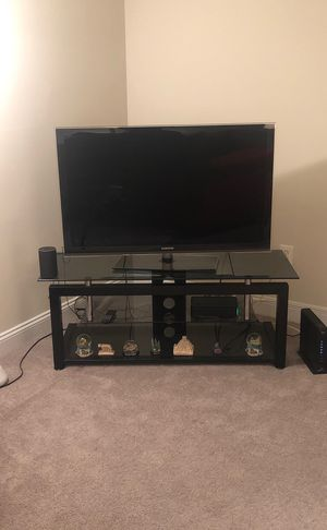 Samsung 55 inch , with TV stand for Sale in Alexandria, VA