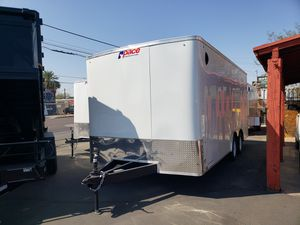 8.5 x 18 enclosed cargo trailer for Sale in Phoenix, AZ