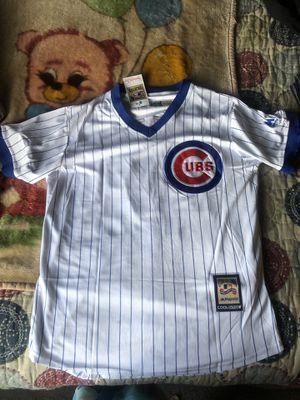 Cubs Throwback Rizzo Jersey for Sale in Elgin, IL