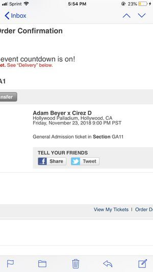 Adam Beyer x cirez d for Sale in Fort McDowell, AZ