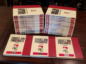 Crimes & Punishment: The Illustrated Crime Encyclopedia (28 Volume Set) for Sale in Bakersfield, CA