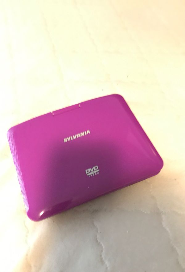 Sylvania Portable DVD player and CD player.
