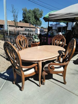 Four chairs and table for Sale in Phoenix, AZ